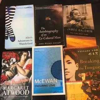 NTU LITERATURE LIT BOOKS TEXTS SALE