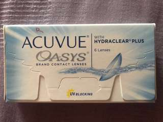 ACUVUE OASYS BRAND CONTACT LENSES