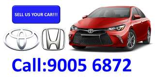 SELL US YOUR CAR TOYOTA/HONDA