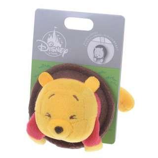 日本 Disney Store 直送 Pop-Up 系列 Winnie the Pooh 小熊維尼雙面立體扣針