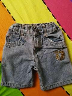 Polo denim shorts