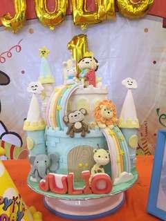 Sewa Dummy Birthday Cake Tema Prince