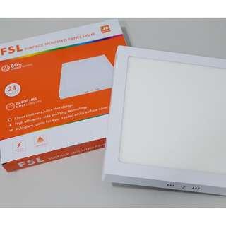 [FSL] [24 watt] Square/ Round Surface Mounted LED Panel Light