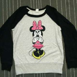 Uniqlo Minnie Mouse Sweatshirt