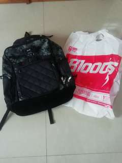(BNWT) Tas Bloods black army