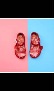 Jelly Shoes Red