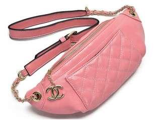 Chanel Bum bag Pink