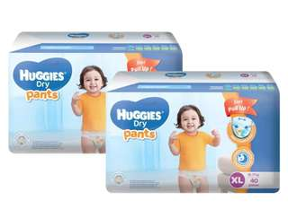 Huggies Dry Pants XL 40s