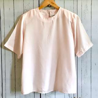 Pink Square Top