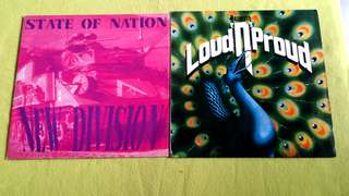 NAZARETH . loud 'n' proud ● NEW DIVISION . state of nation ( buy 1 get 1 free )  vinyl record