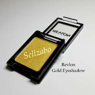 Used Gold Golden Revlon Eyes Shadow Eyeshadows Eyesshadows Colour Makeup Cosmetics Beauty Sellzabo