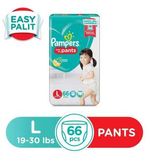 Pampers Dry Pants Large 66s