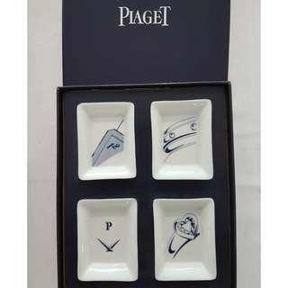 4 Porcelain Ashtrays PIAGET 4