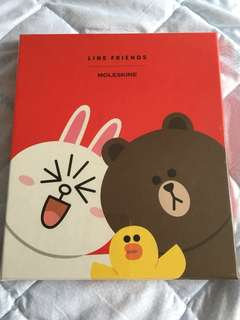 Moleskine, Line Friends