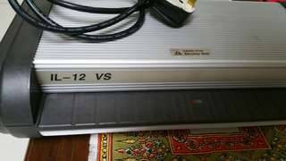 Ibico Laminating Machince IL-12 VS