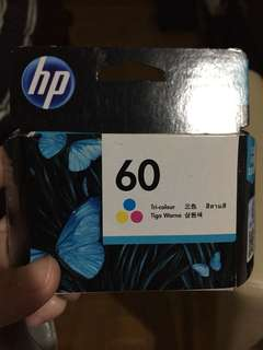Hp 60 colored ink
