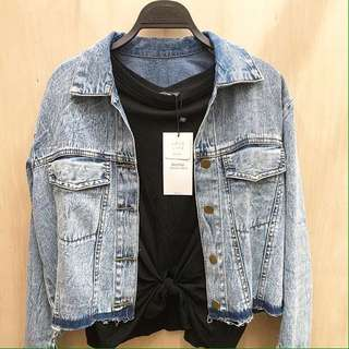 Jaket denim jeans be3rskha