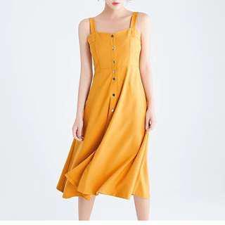 [BNW] Mustard Sunny Dress