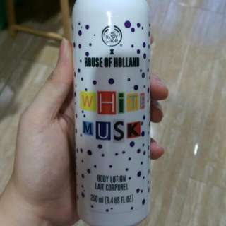 The Body Shop White Musk Body Lotion House Of Holland