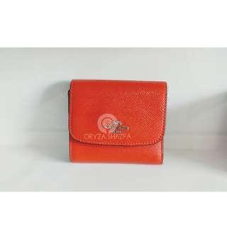 F87588 Plain Leather Folding Wallets