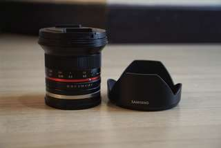 Samyang 12mm F2 Sony E Mount
