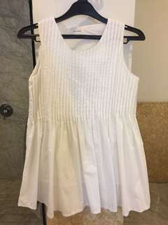 Korean Brand Sleeveless White (allsize fit to L)