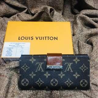 Louis Vuitton Wallet Purse Trifold Monogram Long LV Wallet Authentic Quality (TRIFOLD)
