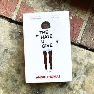 "Looking for ""The Hate U Give by Angie Thomas"" (Hardcover Edition)"