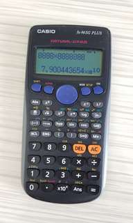 Fx-96SG Plus casio calculator