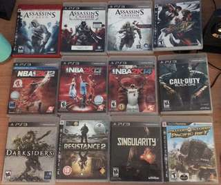 PS3 games for ₱300