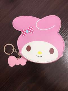 Sanrio My Melody Coin Pouch Wallet Keychain