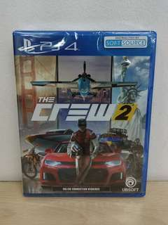 (Brand New) PS4 The Crew 2  / R3