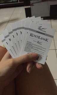 Movie ticket x 6 pcs
