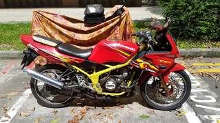Kawasaki kr parts motor scrap