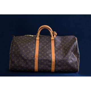 Louis Vuitton Keepall Luggage Bag