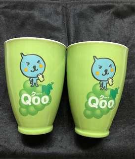 Qoo  porcelain cup (Coca-cola)