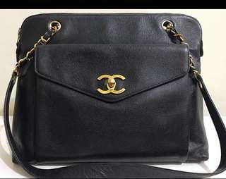 Authentic VINTAGE CHANEL BAG!