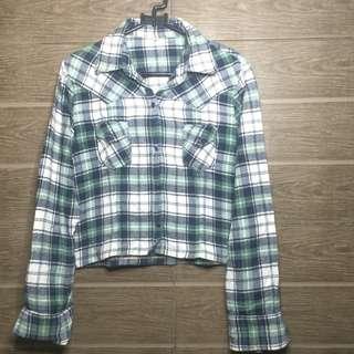 Tartan Crop Shirt
