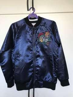 Penshoppe Embroidered Bomber Jacket