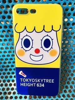 iPhone Case 7Plus/8plus手機殼 日本 可愛 黃色