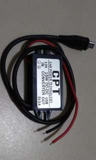 DC12v to Micro usb output