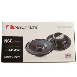 "NSE-1617 Nakamichi 6"" Component Speakers 400W 4-Way Coaxial Speaker"