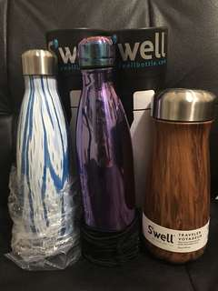 Swell Bottle (White & Ultraviolet)