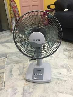 Khind Table Fan