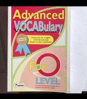 Advanced Vocabulary for O level