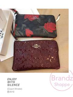 🔥🔥🔥ON SALE! Coach Women Large Wristlet @ LAST 2 ONLY!!! Ready Stock & Hurry Up🔥🔥🔥