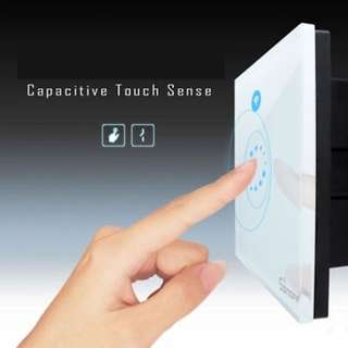 (119) Sonoff Touch - Luxury Glass Panel Touch LED Light Switch