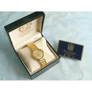 MERTON OXFORD LONDON 24K GOLD 999.9 純金錶