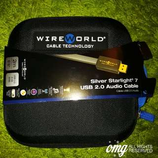 LNIB Wireworld Silver Starlight 7 USB 2.0