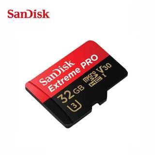 SanDisk 32GB Extreme PRO UHS-II microSDXC Memory Card